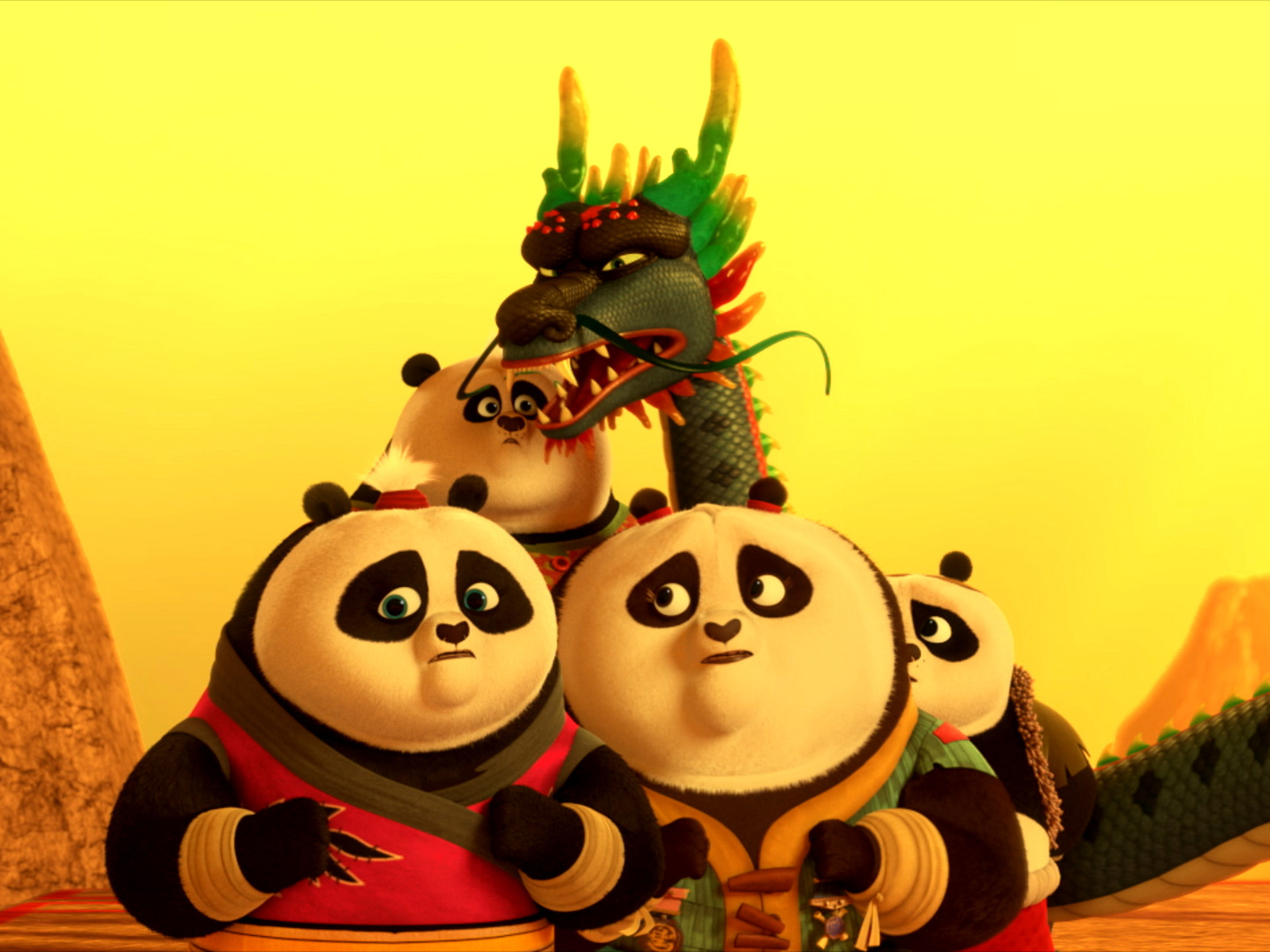 Kung Fu Panda The Paws Of Destiny Return Of The Four Constellations Tv Episode 2018 Imdb