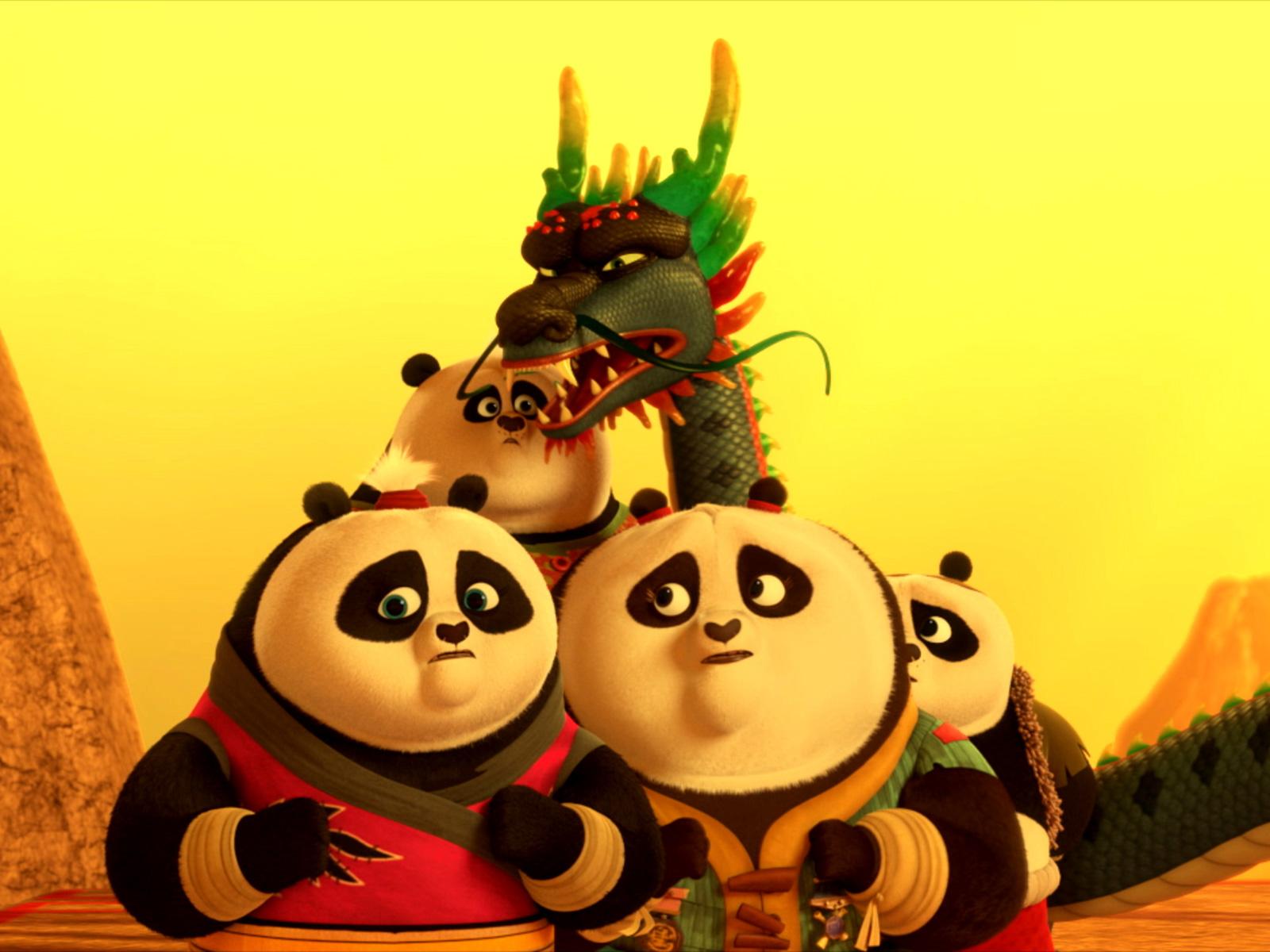 Kung Fu Panda The Paws Of Destiny Return Of The Four