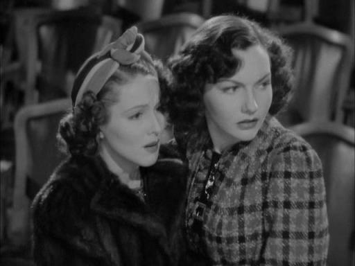 Lynn Bari and Jayne Regan in Mr. Moto's Gamble (1938)