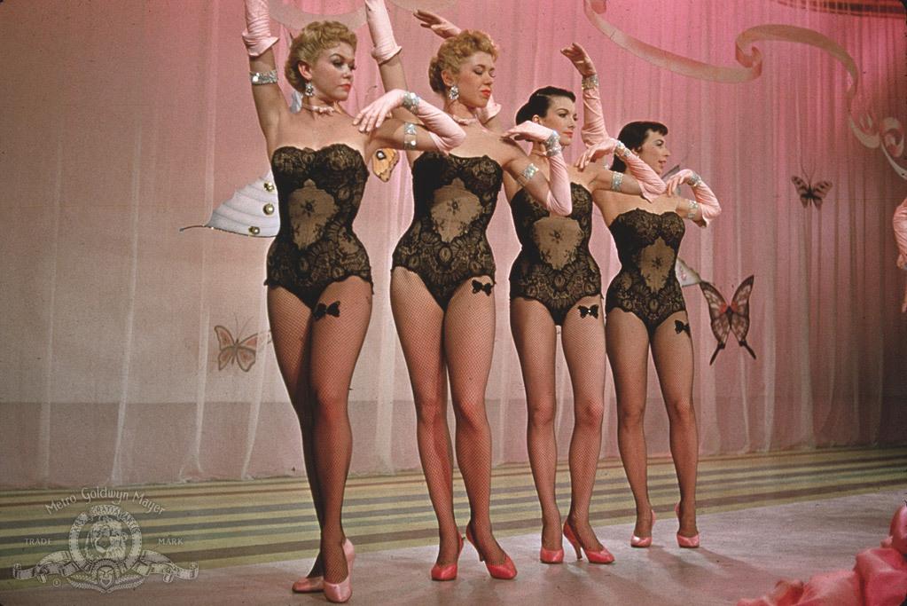 The Goldwyn Girls in Guys and Dolls 1955