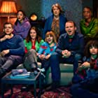 Anne Reid, Jessica Hynes, Russell Tovey, Rory Kinnear, T'Nia Miller, Ruth Madeley, Jade Alleyne, and Lydia West in Years and Years (2019)