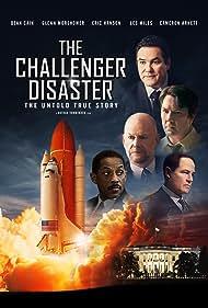 Dean Cain, Cameron Arnett, Glenn Morshower, Les Miles, Erika Waldorf, Nathan VonMinden, and Eric Hanson in The Challenger Disaster (2019)