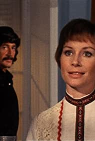 Penelope Horner and Peter Wyngarde in Jason King (1971)