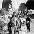 Rock Hudson and Gregg Palmer in Taza, Son of Cochise (1954)