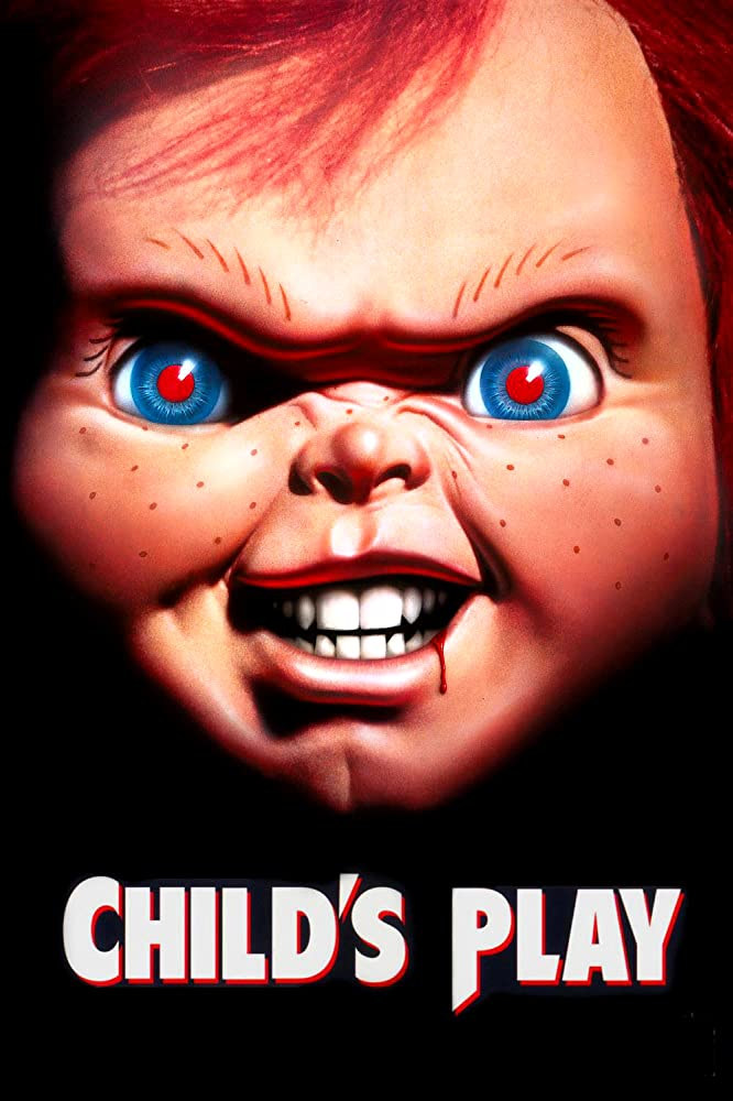 Brad Dourif in Child's Play (1988)