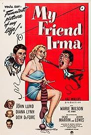 My Friend Irma Poster