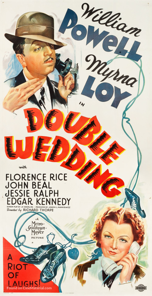 Image result for Double Wedding 1937