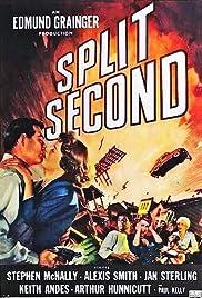 Split Second(1953) Poster - Movie Forum, Cast, Reviews