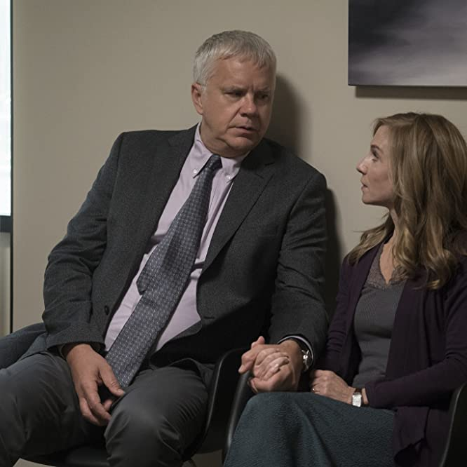 Tim Robbins and Holly Hunter in Here and Now (2018)