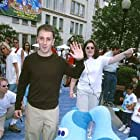 Steve Burns at an event for Blue's Big Musical Movie (2000)