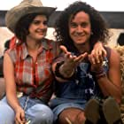 Carla Gugino and Pauly Shore in Son in Law (1993)