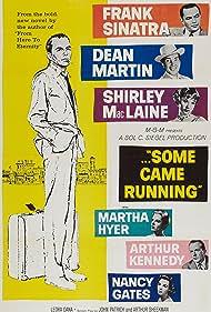 Frank Sinatra, Shirley MacLaine, Dean Martin, Nancy Gates, Martha Hyer, and Arthur Kennedy in Some Came Running (1958)
