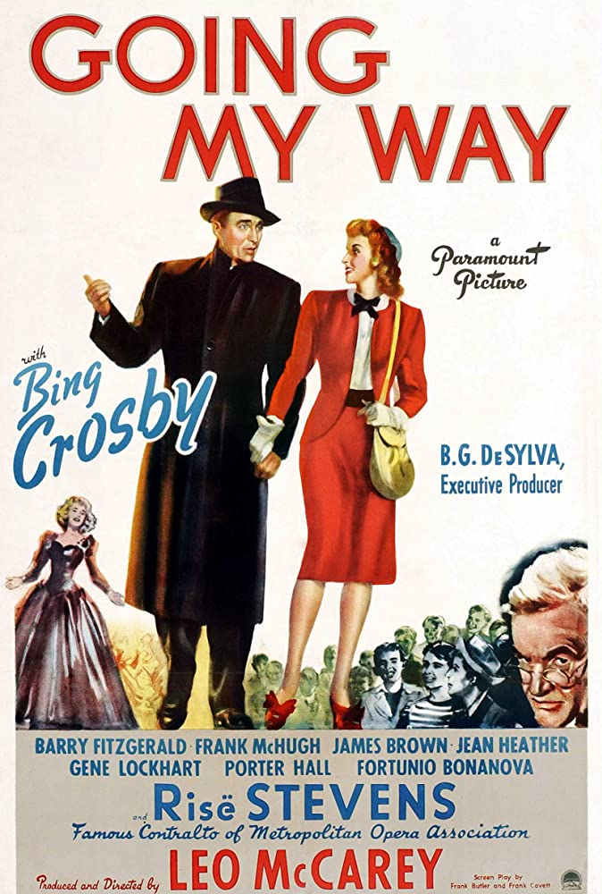 Bing Crosby, Barry Fitzgerald, and Risë Stevens in Going My Way (1944)