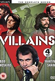 Bob Hoskins and Martin Shaw in Villains (1972)