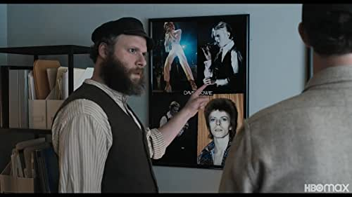 AN AMERICAN PICKLE, directed by Brandon Trost, is based on Simon Rich's New Yorker novella and stars Seth Rogen as Herschel Greenbaum, a struggling laborer who immigrates to America in 1920 with dreams of building a better life for his beloved family. One day, while working at his factory job, he falls into a vat of pickles and is brined for 100 years. The brine preserves him perfectly and when he emerges in present-day Brooklyn, he finds that he hasn't aged a day. But when he seeks out his family, he is troubled to learn that his only surviving relative is his great-grandson, Ben Greenbaum (also played by Rogen), a mild-mannered computer coder whom Herschel can't even begin to understand.