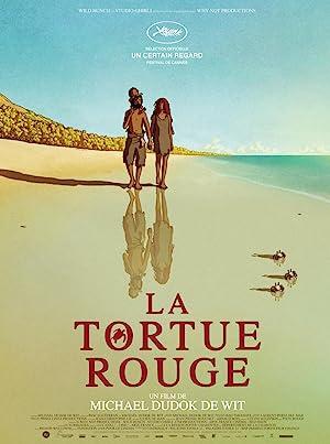 La tortuga roja Cartel de la película