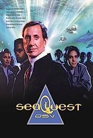 Stephanie Beacham, Jonathan Brandis, Ted Raimi, Roy Scheider, Royce D. Applegate, and Don Franklin in Seaquest DSV (1993)