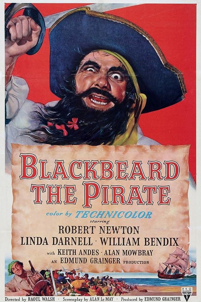 Robert Newton in Blackbeard, the Pirate (1952)