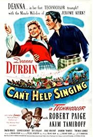 Can't Help Singing Poster
