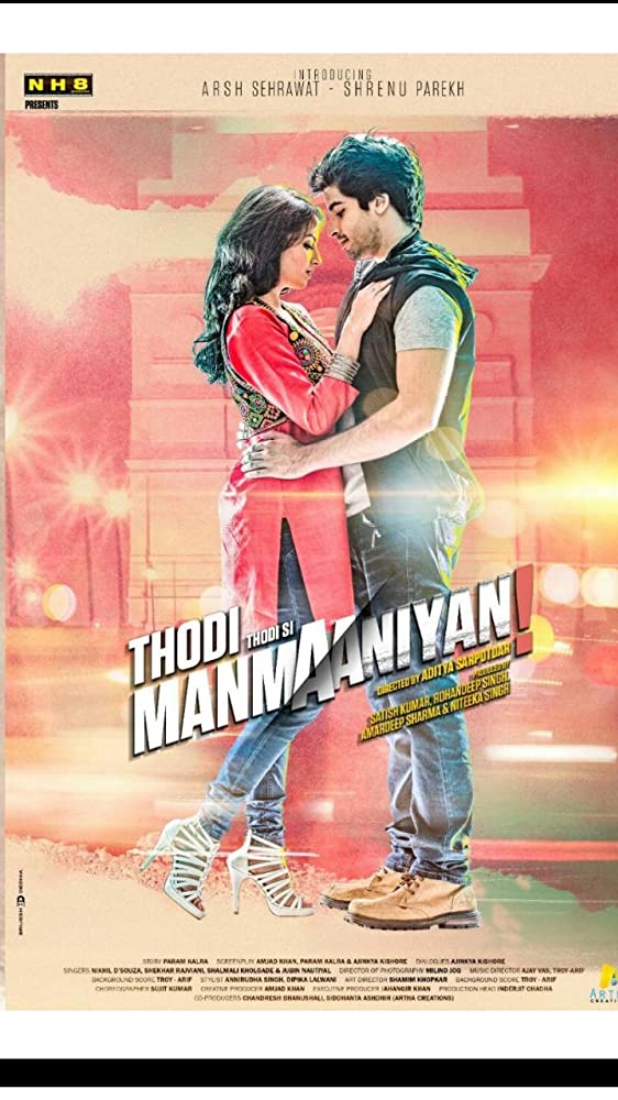 Thodi Thodi Si Manmaaniyan 2017 Hindi 720p HDRip 900MB Free Download