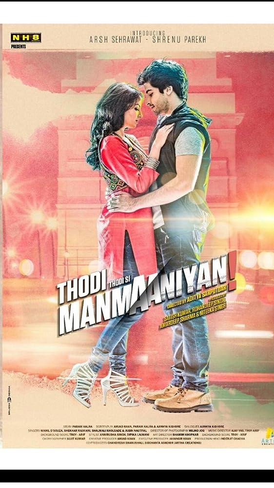 Thodi Thodi Si Manmaaniyan 2017 Hindi 720p HDRip 900MB Download