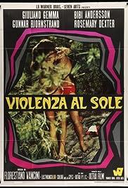 Violenza al sole Poster