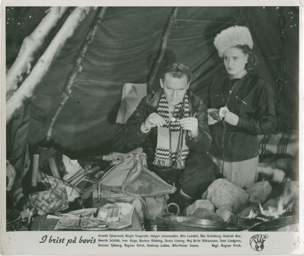 I brist på bevis (1943)
