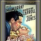 Madeleine Carroll and Fred MacMurray in Honeymoon in Bali (1939)