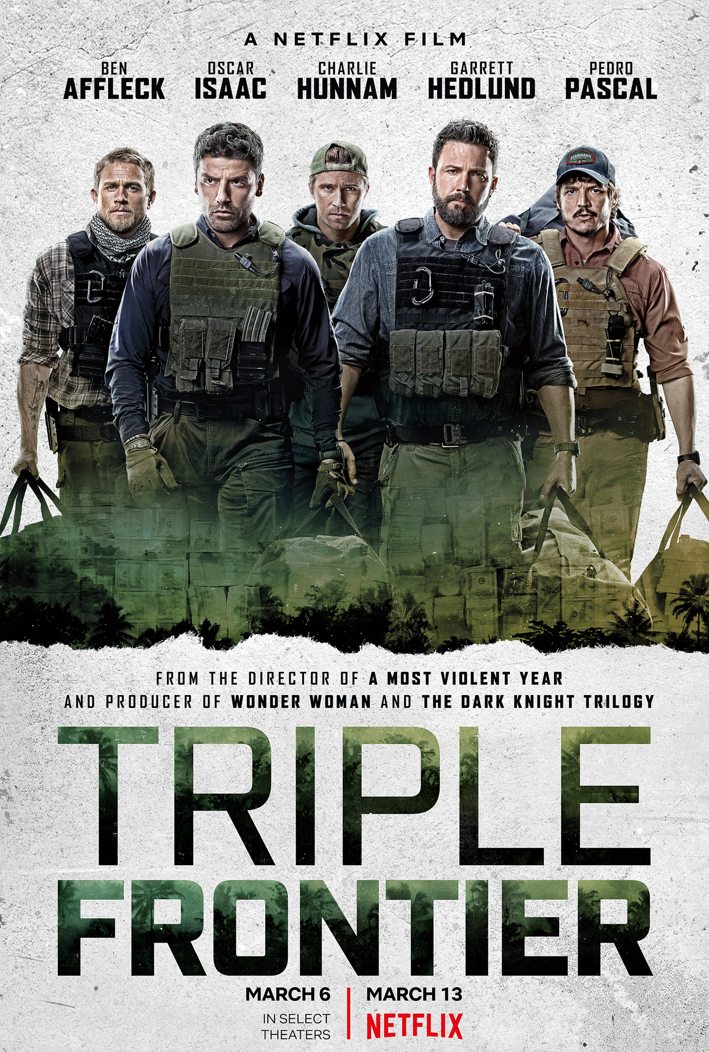 Image result for triple frontier poster