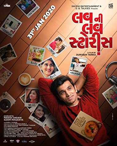 Poster of Luv Ni Love Storys 2020 Full Gujarati Free Download Watch Online In HD Movie Download 720p HDRip