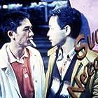Leslie Cheung and Tony Chiu-Wai Leung in Chun gwong cha sit (1997)