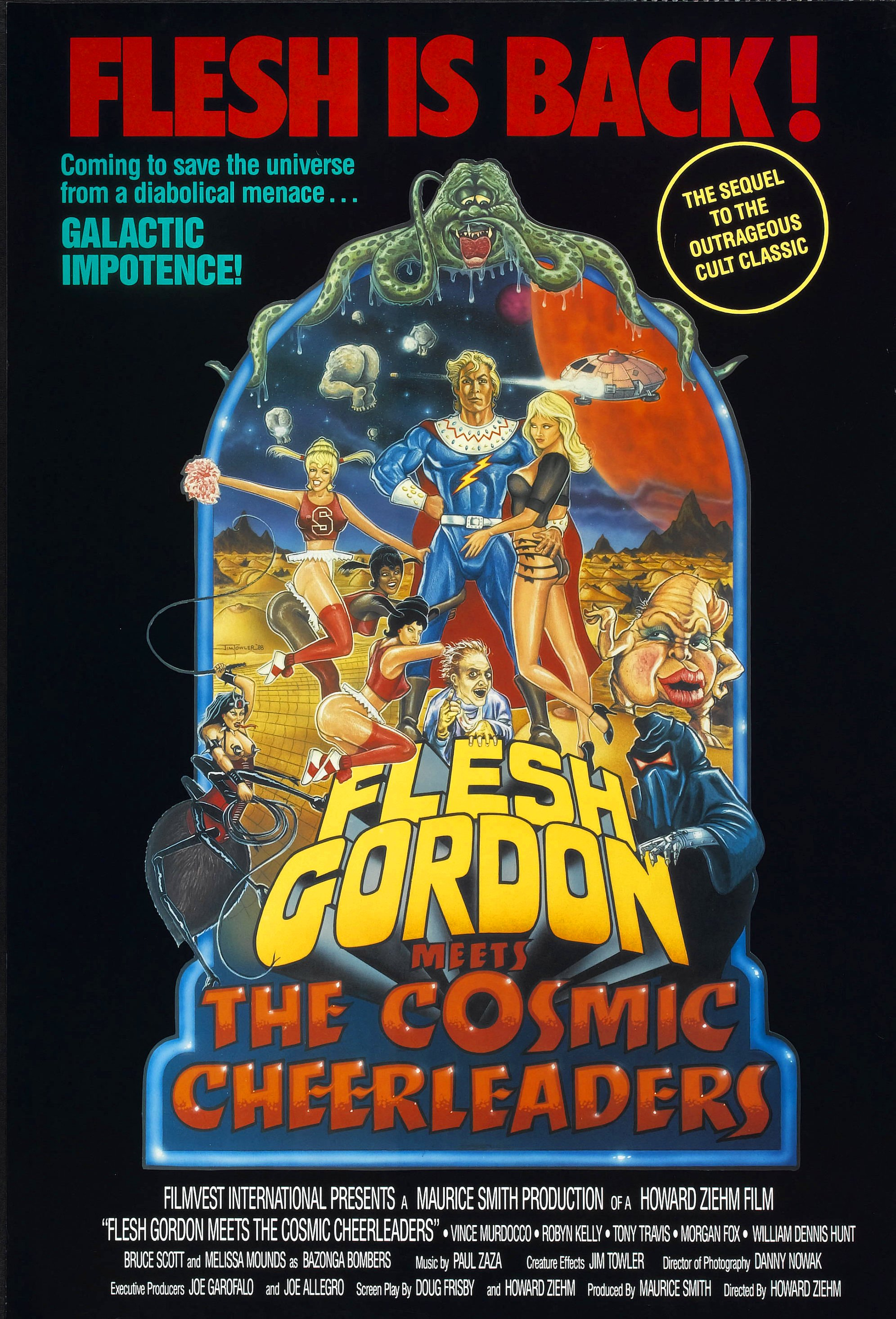 Flesh Gordon Meets the Cosmic Cheerleaders (1990) - IMDb