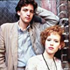 Molly Ringwald and Andrew McCarthy in Pretty in Pink (1986)