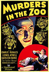 Movie thriller download Murders in the Zoo by Robert Florey [720