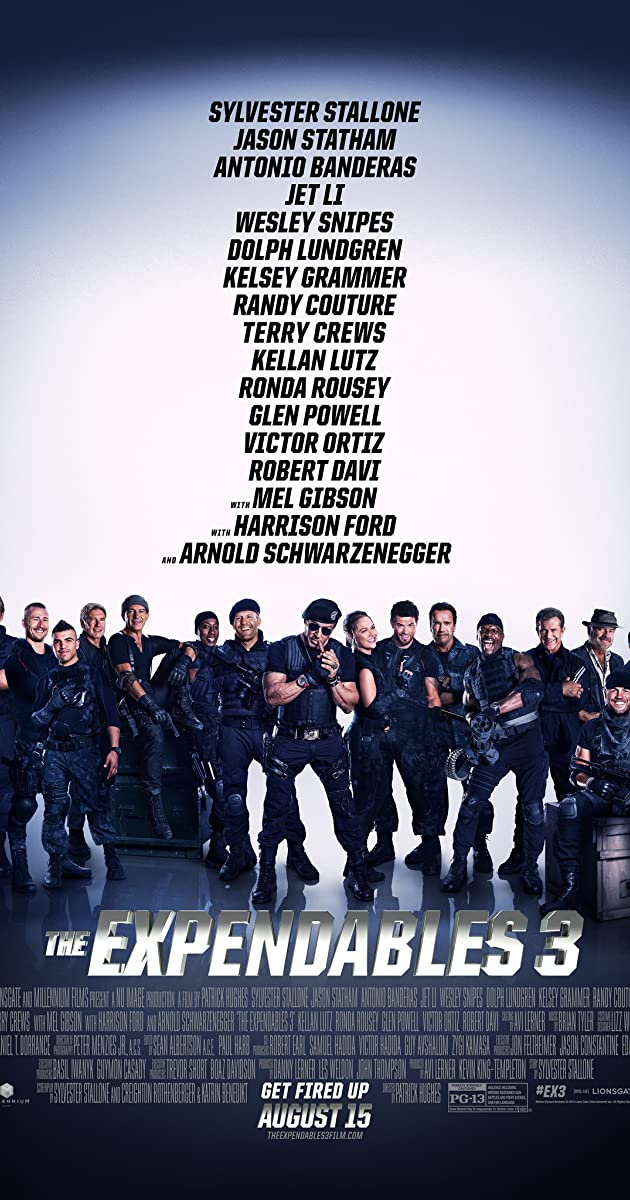 Watch Full HD Movie The Expendables 3 (2014)