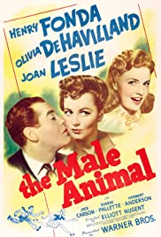 The Male Animal Poster
