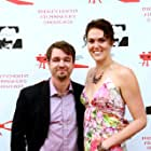 Writer-Director-Producer Rachael Meyers and Actor Bryan McKinley on the Red Carpet of the IFS Film Fest in Beverly Hills