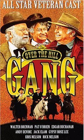 Walter Brennan, Edgar Buchanan, and Chill Wills in The Over-the-Hill Gang (1969)