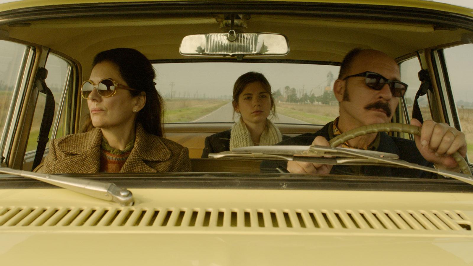 Darío Grandinetti, Laura Grandinetti, and Andrea Frigerio in Rojo (2018)