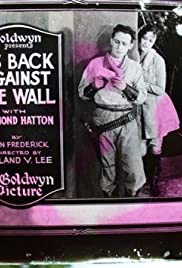 His Back Against the Wall Poster
