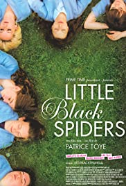 Little Black Spiders Poster