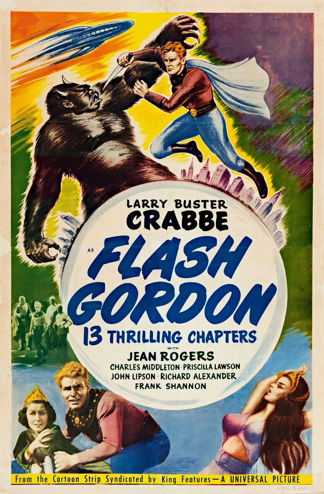 The Flash Gordon Serials (1936-1940) on FREECABLE TV