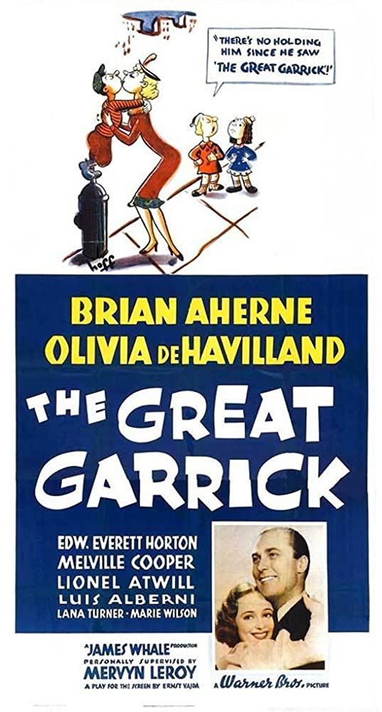Olivia de Havilland and Brian Aherne in The Great Garrick (1937)