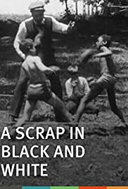 A Scrap in Black and White Poster