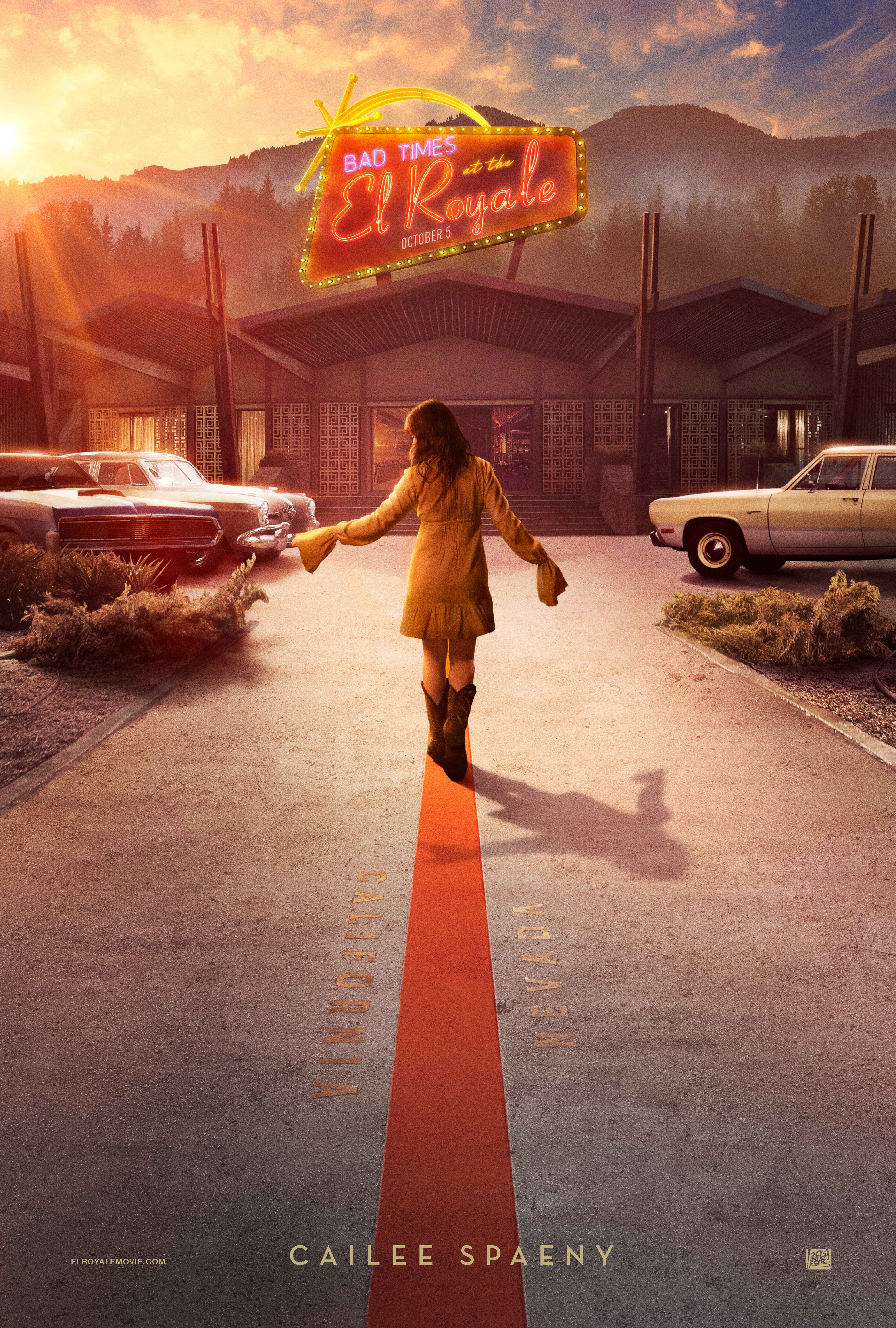 Cailee Spaeny in Bad Times at the El Royale (2018)