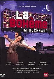 'La bohème' im Hochhaus Poster