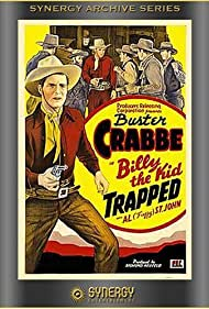 Buster Crabbe and Al St. John in Billy the Kid Trapped (1942)
