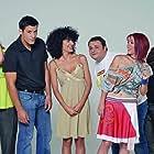 Sunny Hatziargyri, Socratis Patsikas, Maria Solomou, and Stefi Poulopoulou in S1ngles (2004)