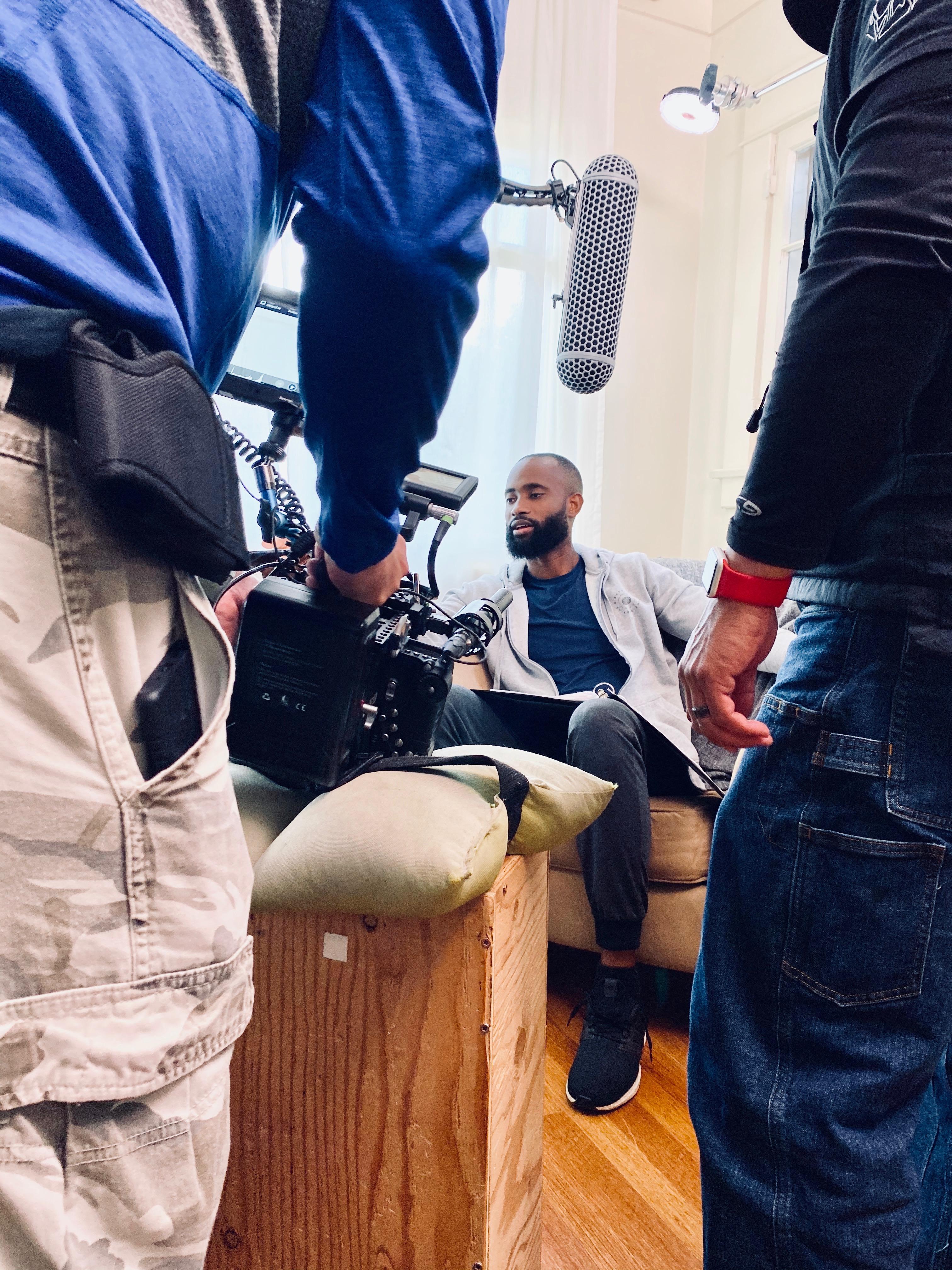 Adrian Jules in Quarantine Therapy (2020)