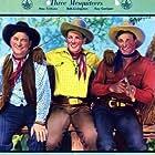 Ray Corrigan, Robert Livingston, and Max Terhune in The Three Mesquiteers (1936)
